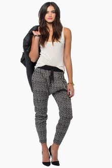 I think I kinda like harlem pants. I don't think they would flatter me but I do like the style