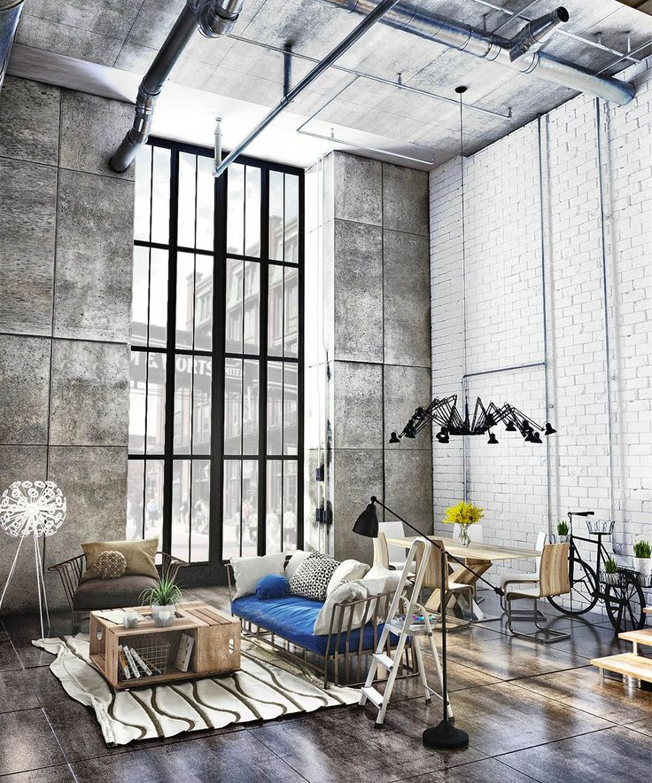 1000+ Ideas About Industrial Interiors On Pinterest