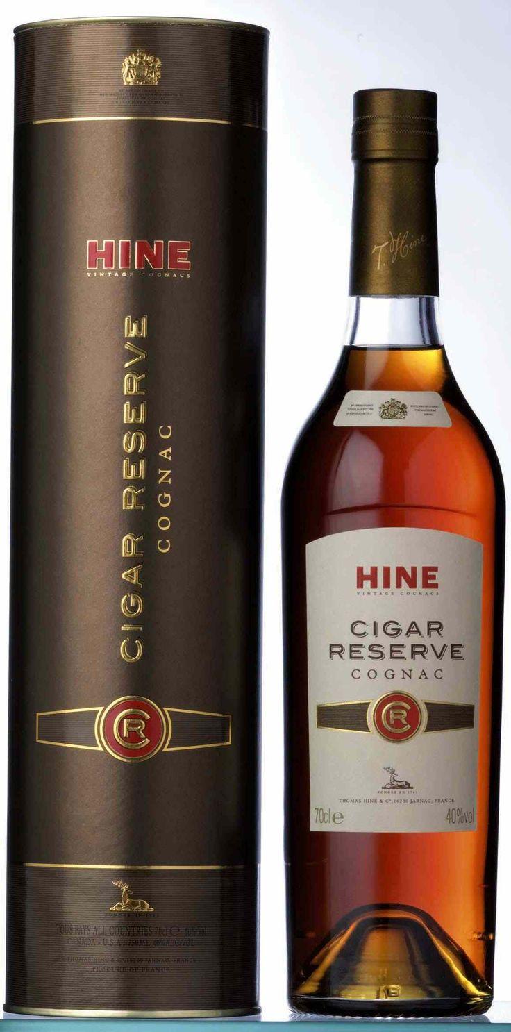Hine Cognac XO comes in a 70 cl bottle