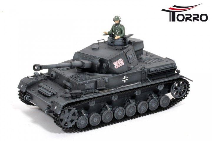 RC Panzer IV 2.4 GHz Edition Grå - RC Kampvogn  http://www.toytrade.dk/torro/10813-rc-panzer-iv-24-ghz-edition-gra-rc-kampvogn.html