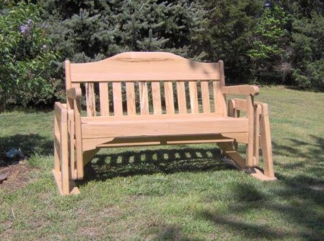 Backyard Glider Swing Plans Woodworking Projects Amp Plans