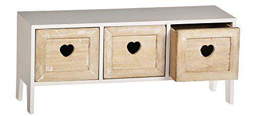 (riya@)Minikommode Kommode 3 Schubladen Deko Box Regal Herz Herzchen weiß Holz Shabby Top http://www.amazon.de/dp/B00Q6CNKVC/ref=cm_sw_r_pi_dp_cQKOvb0J0A476