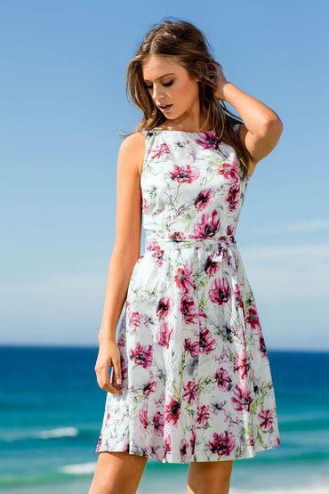 Emerge Cotton Dress - from EziBuy