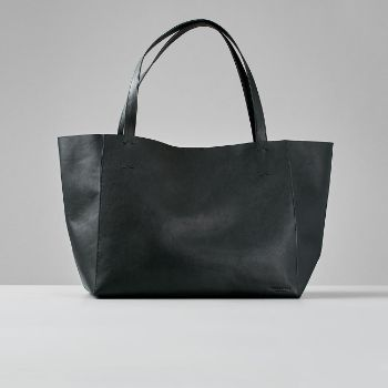 Vagabond – GOTHENBURG Black Bag – leather | black – Black/Black