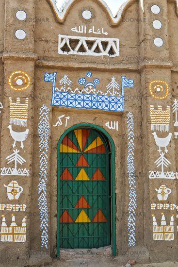 Nubian Village.Aswan Egypt