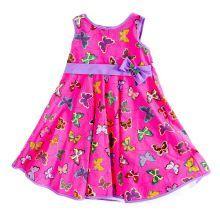 Φορέματα - Ρούχα Για Κορίτσια Για Πάρτι - Εκδύλωση :: Jelly Bean Kids Collection 2014 :: Jelly Bean Kids Εντιπωσιακό Καλοκαιρινό Φόρεμα με Εμπριμέ Πεταλούδων - MEMOIRS Νυφικά και Γυναικεία Φορέματα