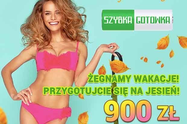 Szybka gotówka zwiększa kwotę darmowej pożyczki do 300 zł. Wnioskując o chwilówkę po raz pierwszy otrzymamy 900 zł za darmo!