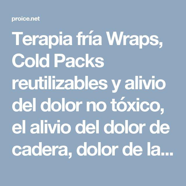 Terapia fría Wraps, Cold Packs reutilizables y alivio del dolor no tóxico, el alivio del dolor de cadera, dolor de la cadera, lesión de la cadera, lesión golfistas, por esfuerzo repetitivo y lesiones por sobreuso