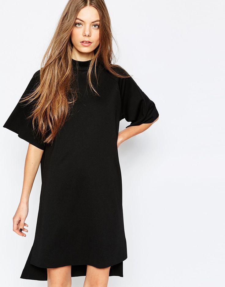 Bild 1 von Selected – Coda – Hochgeschlossenes Kleid