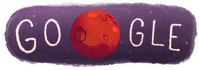 Google celebra la existencia de agua en Marte | El Universal