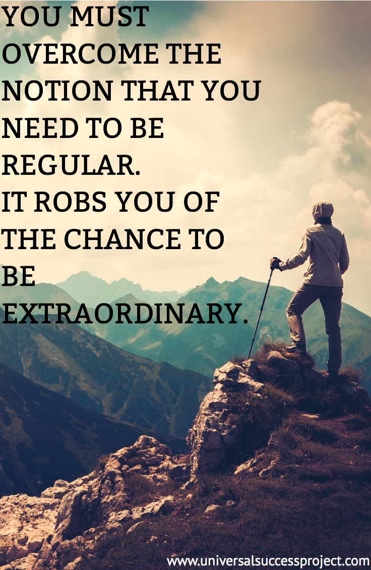 """Don't let average describe your life. The difference between """"ordinary"""" and """"extraordinary"""" is just that little """"extra"""". If you feel like you don't fit it, that's because you probably don't. You're extraordinary and this world is full of ordinary people. Embrace who you are and use your individuality as your superpower. #extraordinary #happiness #dedication #sales #blog #career #focus #determination #mindset #ambition #success #hustle #entrepreneur #quote #love #amazing #motivation #life"""