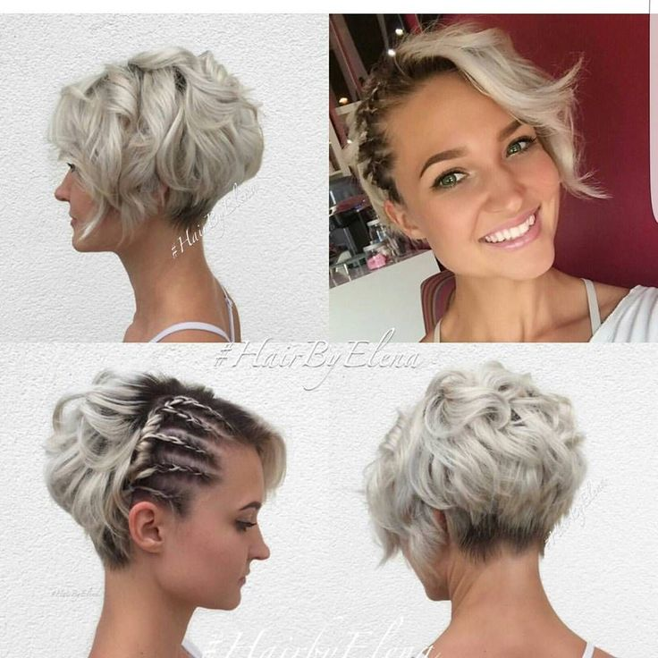"FIIDNT short hairstyles  on Instagram: ""Great look on @rachelchapogas by @hairbyelena"""