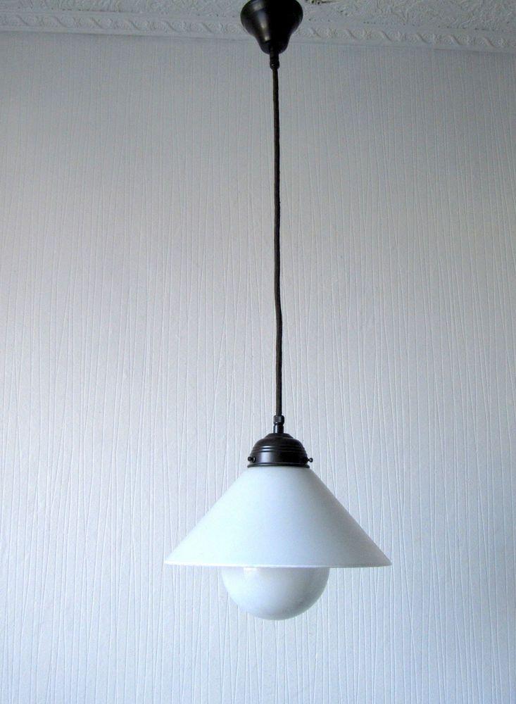 Nice Wundersch ne EMB Leuchten Messing Deckenlampe Flurlampe Lampe in Antiquit ten u Kunst Mobiliar u