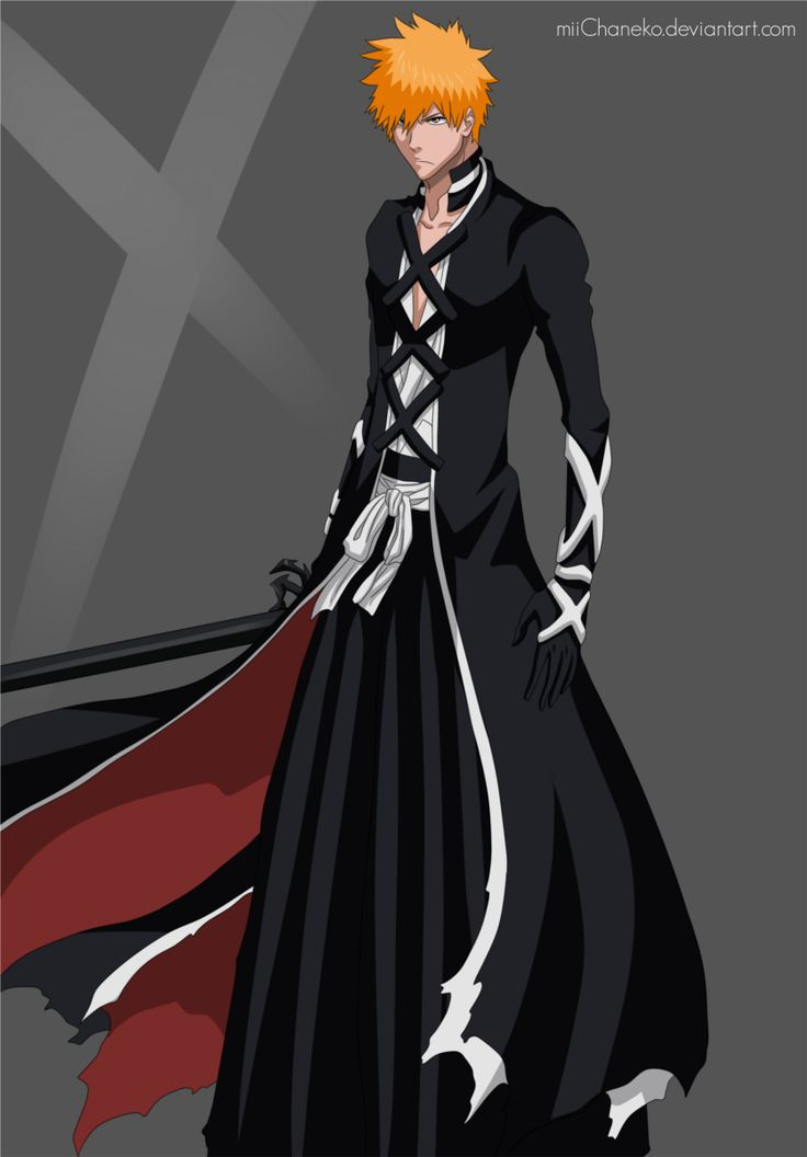 Ichigo Kurosaki is first mentioned in the Bleach pilot chapter that Tite Kubo submitted to Weekly Shōnen Jump. Description from gallery4share.com. I searched for this on bing.com/images