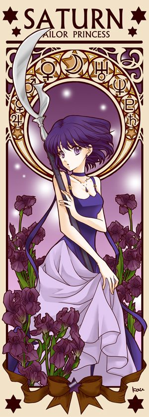 Princess Sailor Saturn by Tsuki-kioku. Sailor Moon