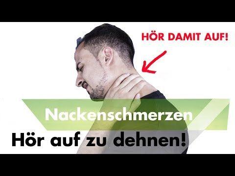 1 Fehler bei Nackenverspannungen den du mit Schmerz bezahlst - YouTube