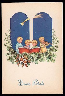 Pmce Cartolina Buon Natale Fg N Serie 783/1 - Bimbi Bimbo Bimba Stella Cometa