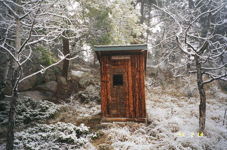 Ye old outhouse. | Outhouse | Pinterest | House