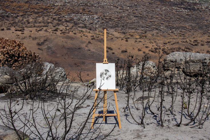 lunar landscape   artist amy keevy   photographed by amor coetzee   styled by lauren sarah crulci