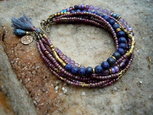 Bohemian Bracelet / Gypsy Bracelet / Boho Jewelry / by Syrena56