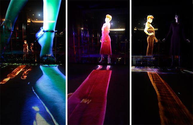FNO2013 GUCCIを纏った3Dホログラムの安室奈美恵が出現!