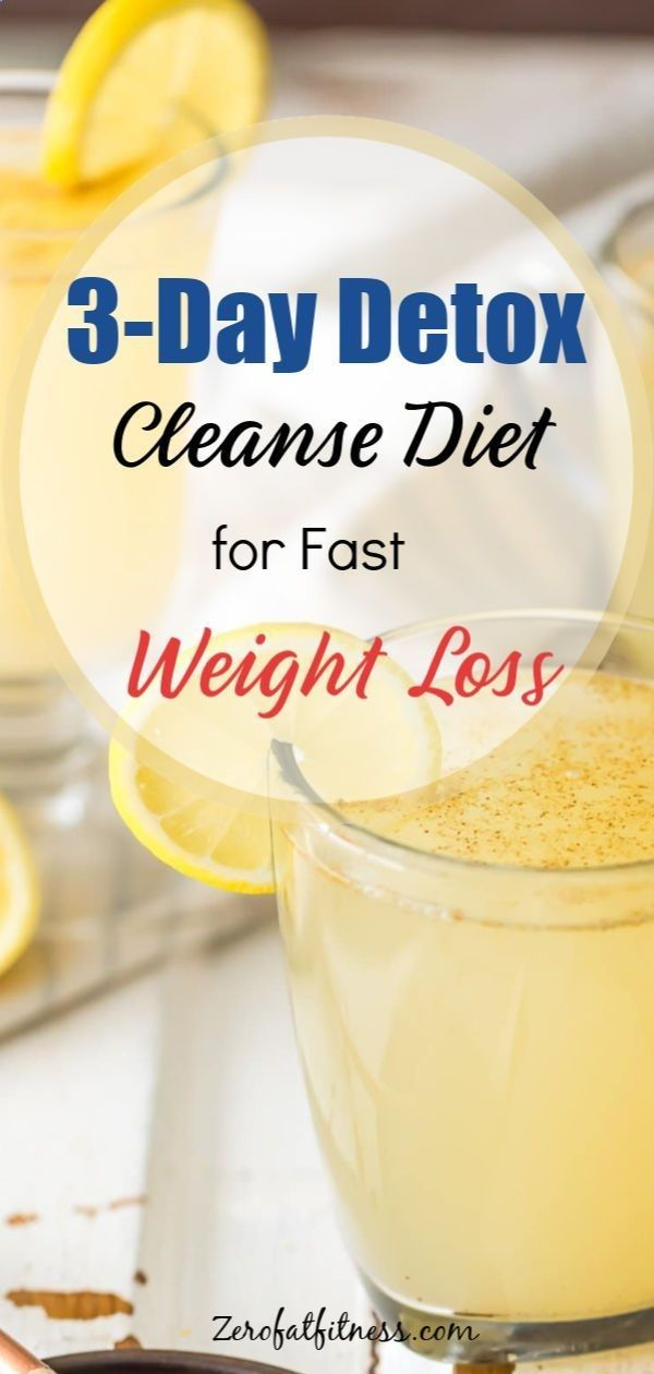 3-Day Detox Cleanse for Weight Loss and Flat Belly | Healthy