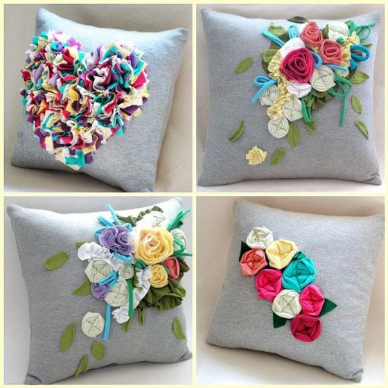 Pillow Craft Ideas: 155 best Pillow Projects images on Pinterest   Cushions  Burlap    ,