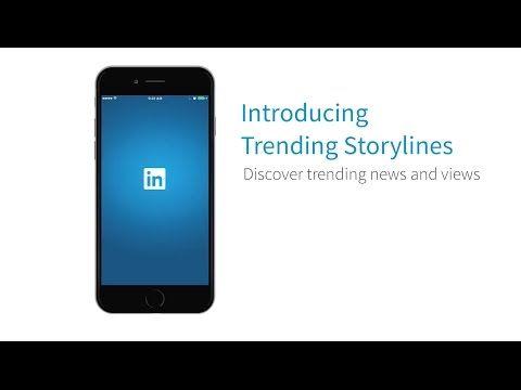 #LinkedIn La nuova sezione Trending Storylines mostra quotidianamente storie sulla base dei propri interessi professionali. #SocialNetwork #SMM #Social