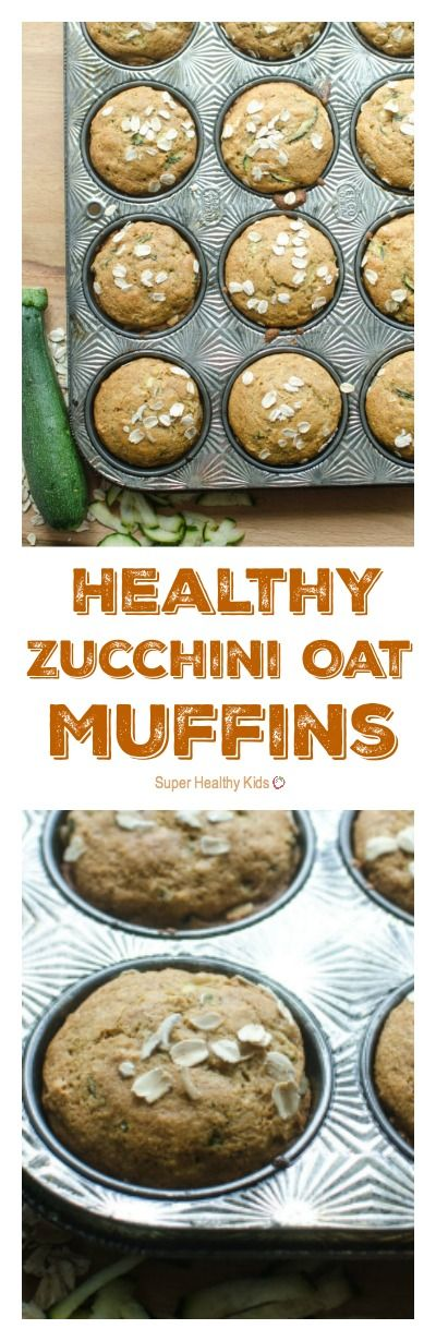 Healthy Zucchini Oat Muffins. Here's what you are going to love about them…