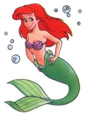 Little Mermaid and Ariel Coloring Pages