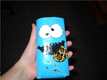 Cookie Monster iPod case