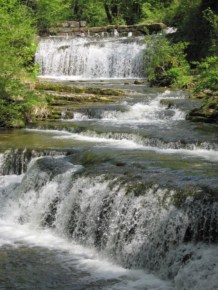 Welkom in het beschermde natuurgebied van de Watervallen van de Hérisson