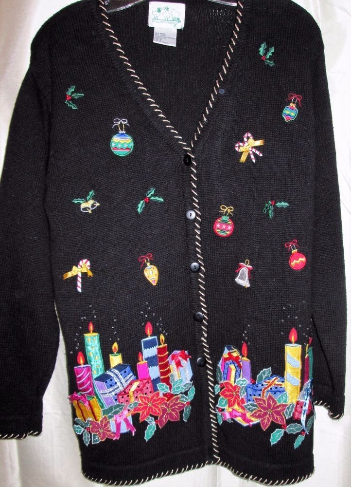 Pretty ugly christmas sweaters