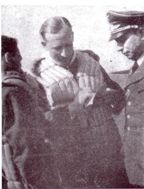 Reinhard Heydrich in his Luftwaffe uniform. (via eisernenkreuz)