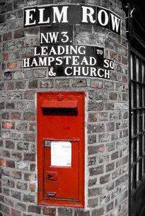 Post Box in London - Hampstead.  ASPEN CREEK TRAVEL - karen@aspencreektravel.com