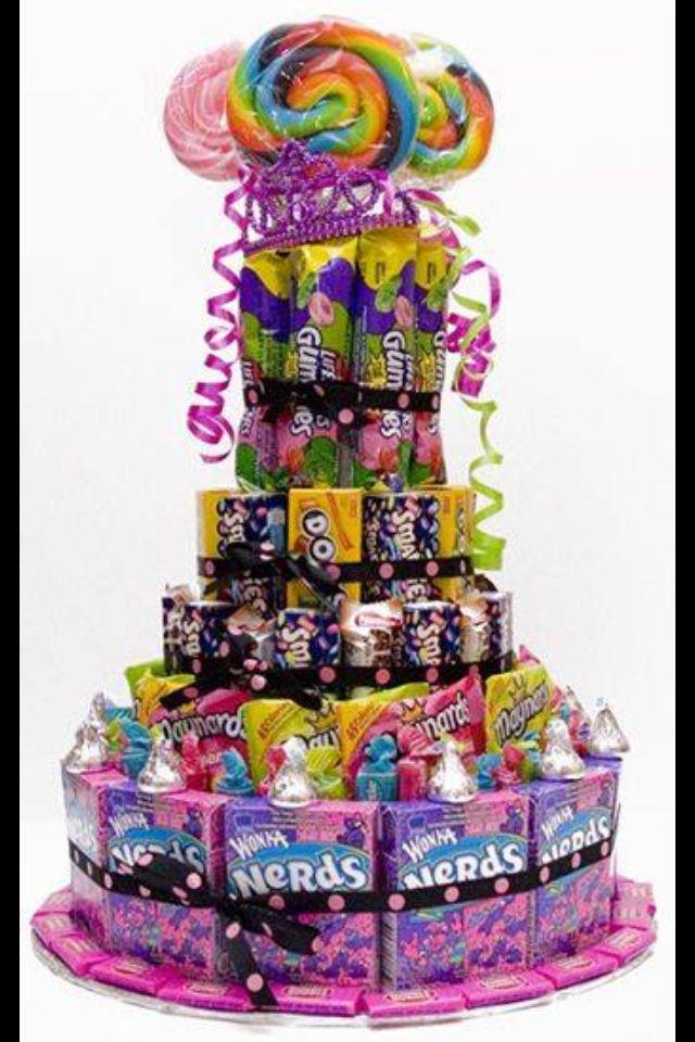 Candy raffle basket??