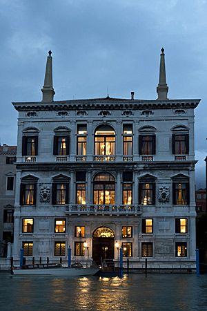 Palazzo Papadopoli on The Grand Canal ~ Venice, Italy