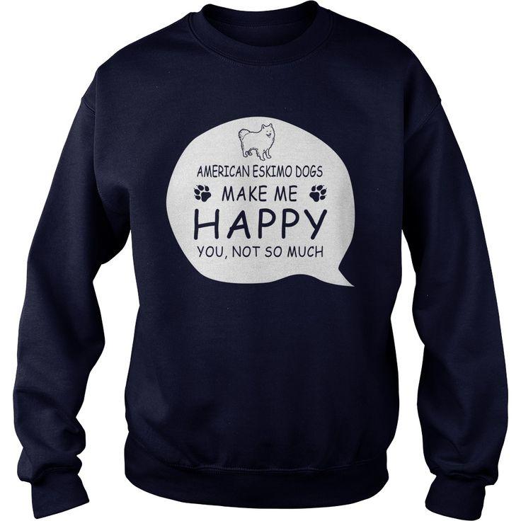 American Eskimo Dogs make me happy