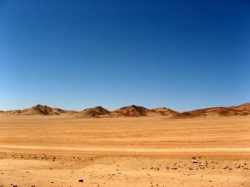 El infranqueable Desierto de Atacama.