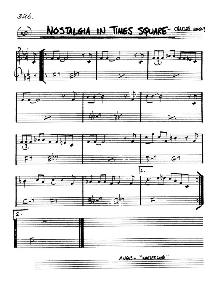 recipe: goodbye pork pie hat piano sheet music [30]