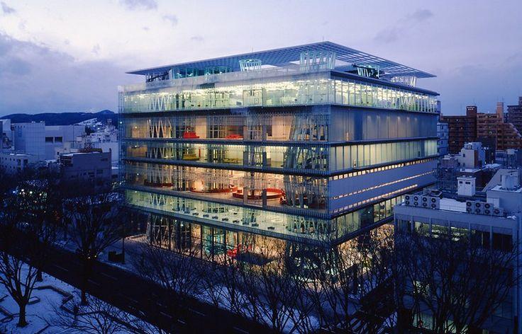 SENDAI MEDIATHEQUE JAPAN LIBRARIES BEST LIBRARIES AROUND THE WORLD (CONT)
