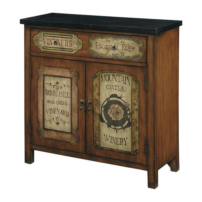 Accents Hall Chest in Brown | Nebraska Furniture Mart
