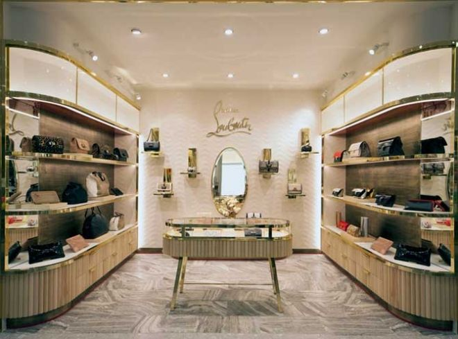 Louboutin Handbags Launch at Harvey Nichols in London