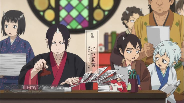 Hozuki's Coolheadedness: Complete Collection Blu-ray Review – The story of the middleman of Hell is told in the stunningly drawn dark comedy Hozuki's Coolheadedness. #animation #anime #comedy