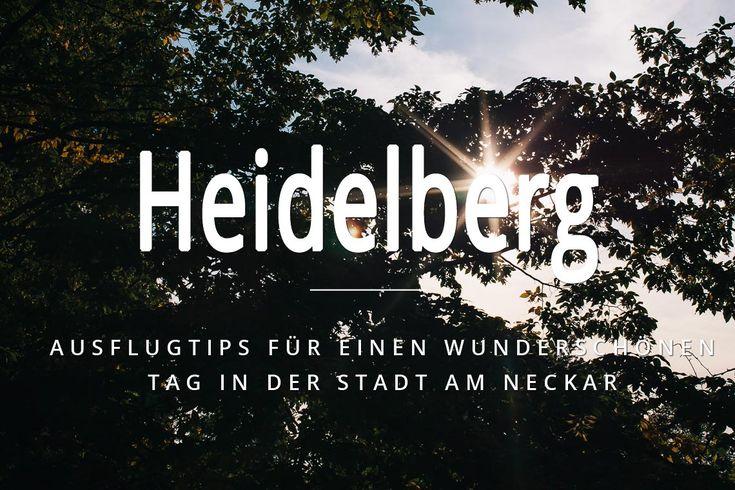 Heidelberg - unsere Geburtsstadt in Fotos und in einem kleinen Film, ganz exklusiv für dich! Die tollsten Plätze, Restaurants und Cafés in Heidelberg!