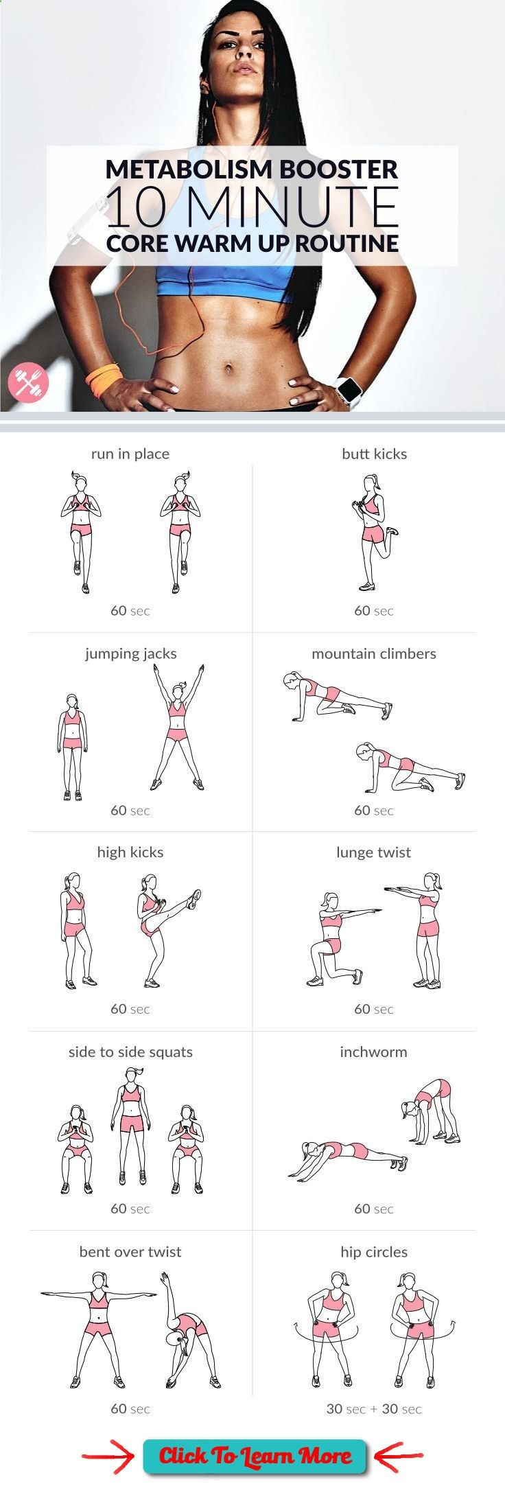 #FastestWayToLoseWeight by EATING, Click to learn more, Warm up your abs and lower back with this bodyweight at home core warm up routine. Get your heart pumping and prepare your core for a strengthening workout. www.spotebi.com/... , #HealthyRecipes, #FitnessRecipes, #BurnFatRecipes, #WeightLossRecipes, #WeightLossDiets