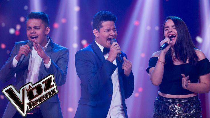 Yoly, Sammy y Alejandro cantan 'Como me duele' | Batallas | La Voz Teens...