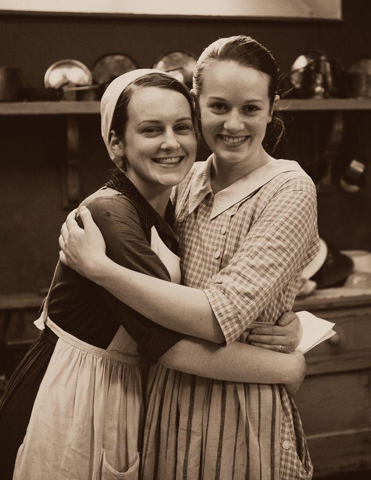 Daisy & Ivy. <3 Downton Abbey.