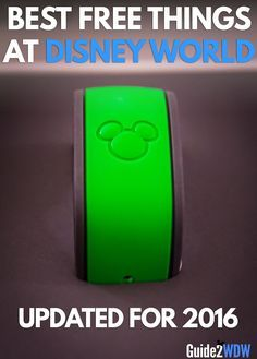 Best Free Things at Disney World - Magic Band
