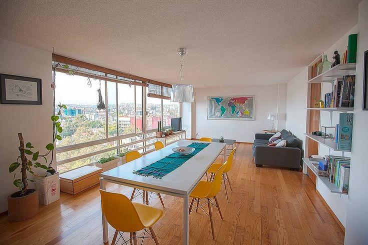 Spacious room w/panoramic view in Condesa - Apartments for Rent in Ciudad de México, Ciudad de México, Mexico